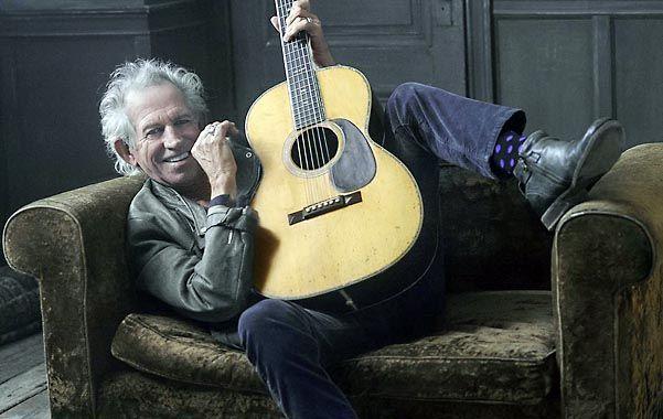 Maestro rockero. En su nuevo álbum Richards se pasea por géneros como el rock