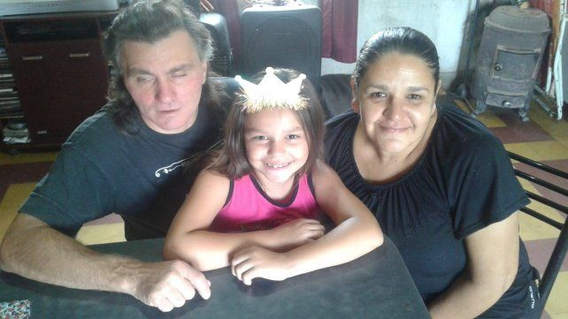 En familia. Javier Fabretti