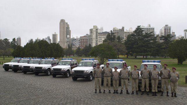 El 29 de julio de 2004 la Guardia Urbana Municipal debutó con sus recorridas por la calles de Rosario.