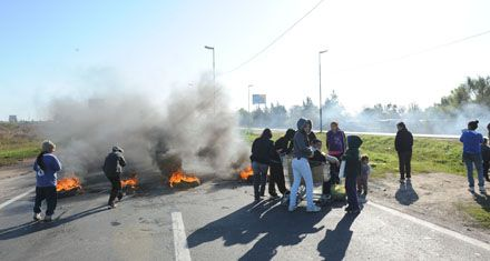 Gendarmería denunció en la Justicia federal 20 piquetes en Circunvalación