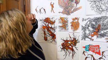 Fabiana Imola: Durante la cuarentena el arte me salvó