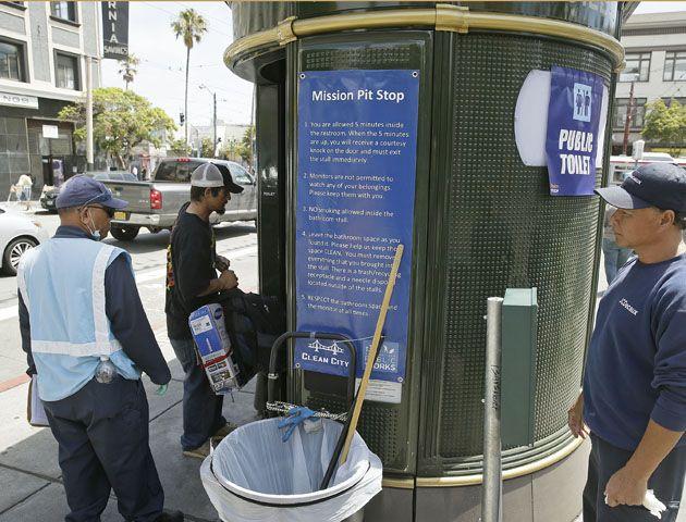 San Francisco cuenta con una innumerable cantidad de baños públicos. (Foto: AP)