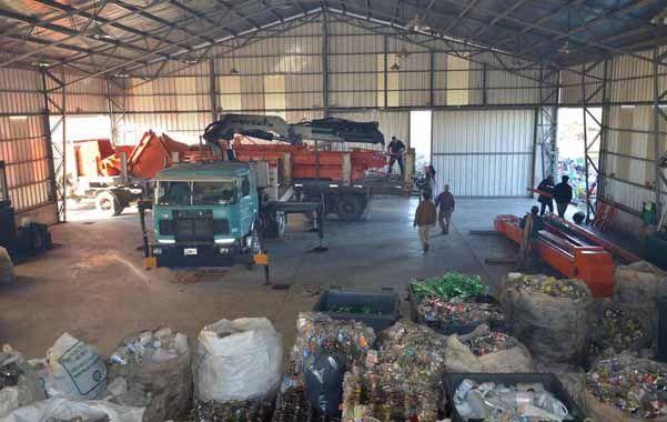 Obras en la planta de tratamiento de residuos de Venado Tuerto