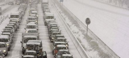 La ola de frío recrudeció con una espectacular nevada que cubre a España y colapsa a Madrid