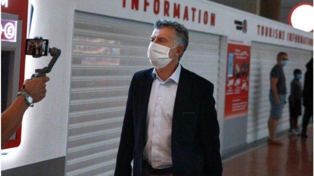 Mauricio Macri no respetó el aislamiento obligatorio tras su regreso del exterior.