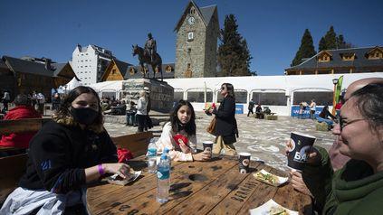 San Carlos de Bariloche, uno de los lugares preferidos por el turismo.