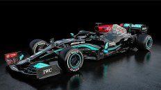 Mercedes tiene listo el monoplaza 2021 que utilizará el campeón Lewis Hamilton en la Fórmula 1.