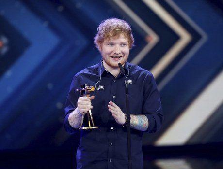 Ed Sheeran es nuevo record en Spotify