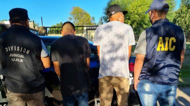Los hermanos sospechados del crimen de Buljubasich se escondían en Puerto Gaboto.