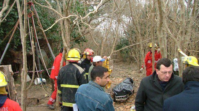 El cuerpo sin vida de Burdisso fue hallado el 20 de junio de 2008.