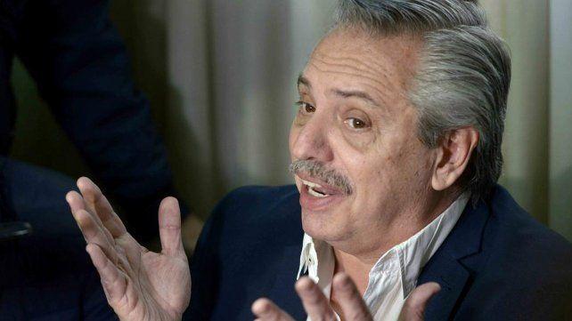 Alberto Fernández se comprometió a no hablar de la herencia