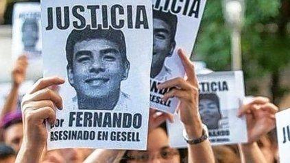 Fernando Báez Sosa fue asesinado por un grupo de rugbiers a la salida de un boliche en Villa Gessel, el 18 de enero de 2020.