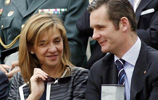 Otros tiempos. La infanta y su esposo Iñaki Urdangarin en una fotografía tomada en Barcelona en 2007.