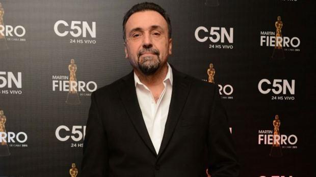 Navarro. El periodista de C5N.