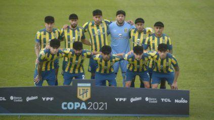 Arriba: Martínez, Laso, N. Ferreyra, Broun, Ojeda y Zabala. Abajo: Villagra, Gamba, L. Ferreyra, Ruben y Blanco.