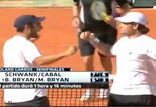 Schwank logró una victoria histórica en Roland Garros y pasó a la final de dobles
