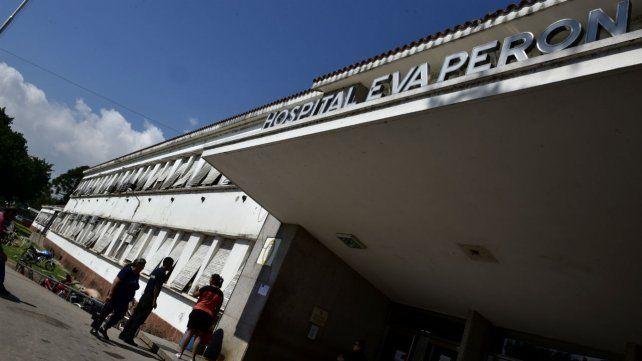 El Hospital Eva Perón de Granadero Baigorria. Un enfermero denunció que hubo irregularidades en la vacunación contra el coronavirus.