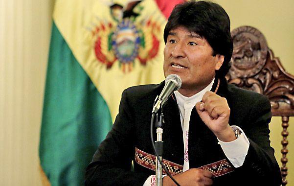A seguir. Evo Morales habló con la prensa y prometió la continuidad de sus políticas económicas y sociales.