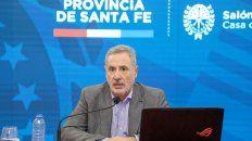 el ministro sain afirmo que el gobernador perotti estaba vacunado, pero luego se desdijo