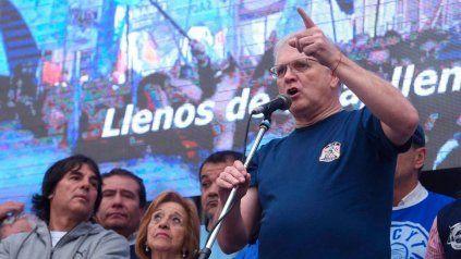 Alberto Botto, titular del sindicato Luz y Fuerza de Rosario.