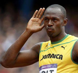 Bolt ganó la serie número 1 de los 200 metros libres con un tiempo de 20 segundos y 39/100.