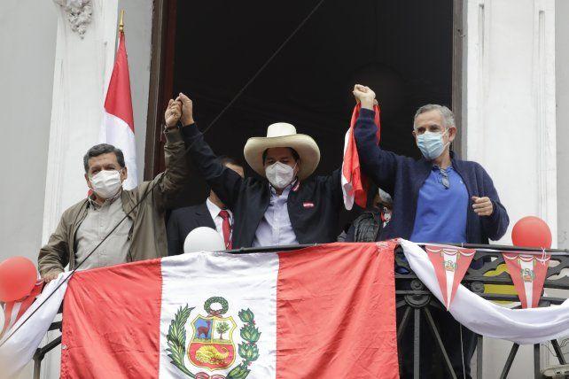 Pedro Castillo salió vencedor en el balotaje del 6 de junio con Keiko Fujimori