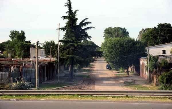 Las Flores. El barrio fue escenario del doble crimen de noviembre pasado.