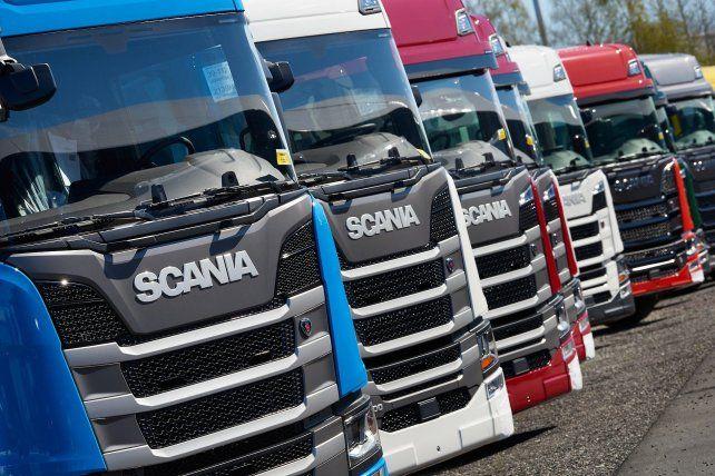 Conductoras de Scania