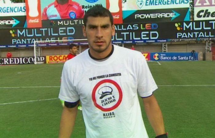 Nahuel Guzmán dejó su mensaje en las redes sobre el 24 de marzo.