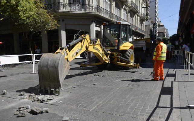 El tránsito de vehículos en la zona de Maipú y Córdoba estará cortado durante 30 días