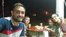 Gabriel Patat disfruta de la familia y analiza su futuro