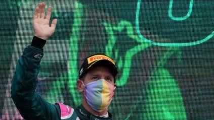 Fórmula Uno: Vettel terminó segundo en Hungría pero fue descalificado