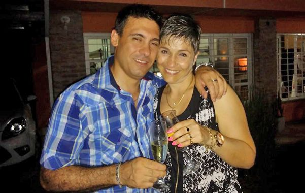 Felices. Así recuerdan amigos y familiares a Mario D'Angelo y Graciela Picech.