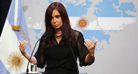 La presidenta denunció la llegada de armamento nuclear a Malvinas