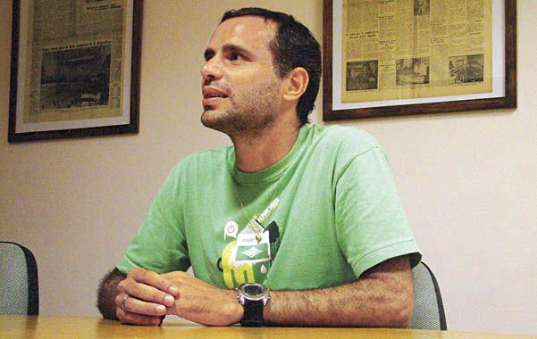 Gustavo Grossi está trabajando en Central desde hace alrededor de 20 días.
