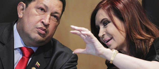 Escala. Cristina hará escala en la Habana en momentos que el presidente venezolano está internado por un cáncer.