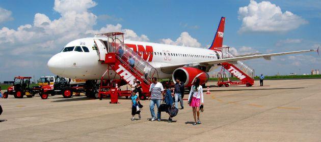 La empresa brasileña TAM volará a Sao Pablo desde el aeropuerto internacional de Fisheron desde el próximo 1º de enero.