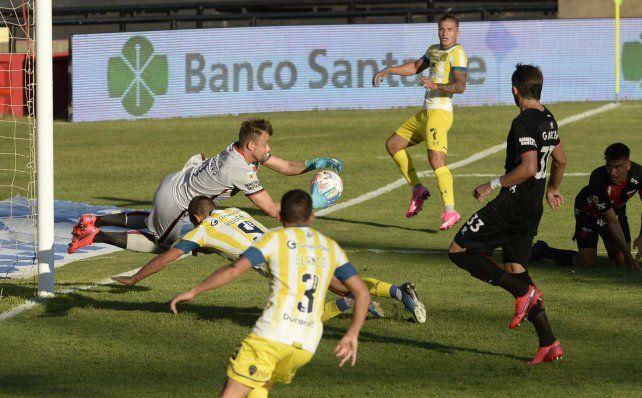 El empate ante Colón, de visitante, fue tomado como un buen resultado.