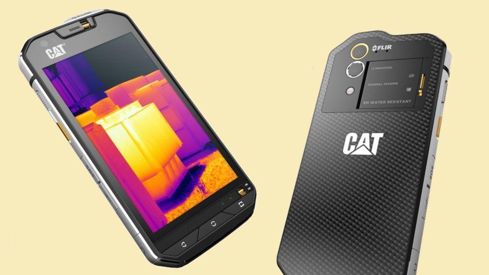 El Cat S60 de Caterpillar posee un recubrimiento Corning Gorilla Glass 4 con un milímetro de grosor.