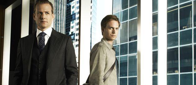 Gabriel Macht y Patrick Adams