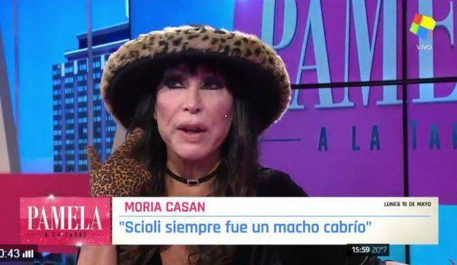 Moria defendió a Scioli y dijo que si Berger estaba molesta debía irse antes de La Ñata