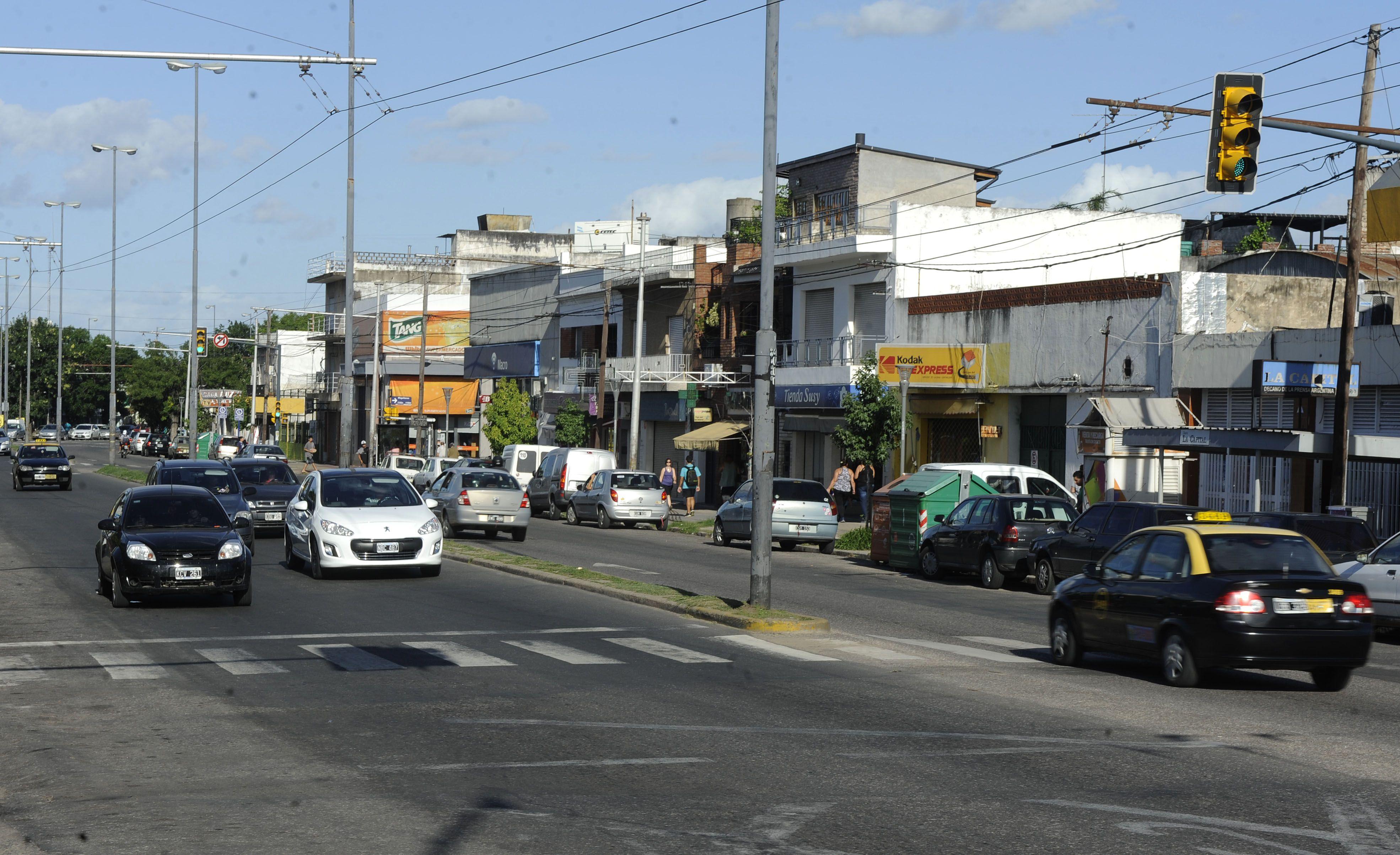 Mendoza. Uno de los puntos conflictivos es la zona cercana a las Cuatro Plazas