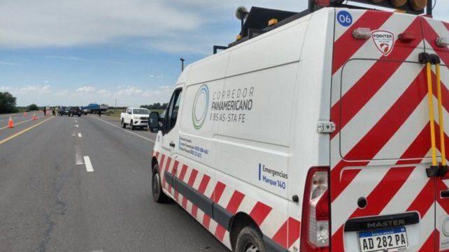 Un joven murió al chocar su camioneta contra un camión en la ruta A012