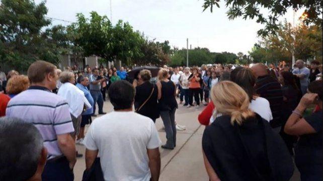 Marcha. Allegados a Mery se manifestaron en Tortugas pidiendo justicia.