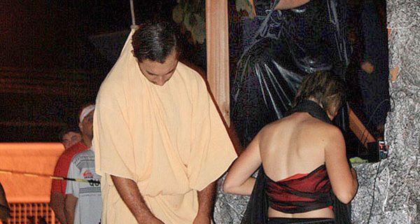 Un actor murió ahorcado mientras interpretaba a Judas