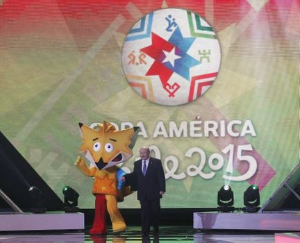 El sorteo de la Copa América Chile 2015 se realizó ayer en Viña del Mar.