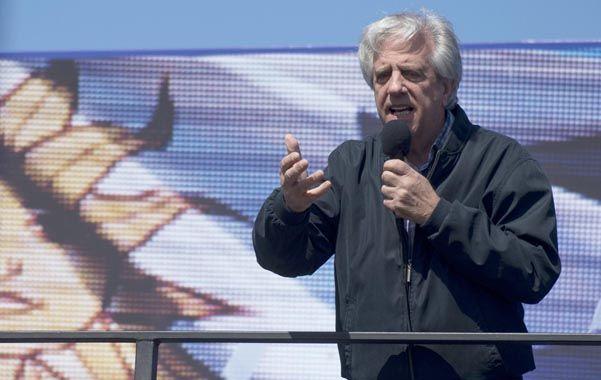 Tabaré Vázquez y el nacionalista Luis Lacalle Pou irían a una segunda vuelta.