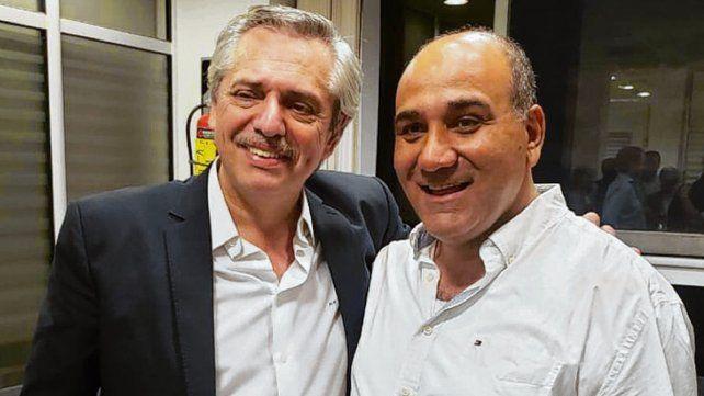 En el búnker. Fernández recibió el domingo el apoyo de Manzur.