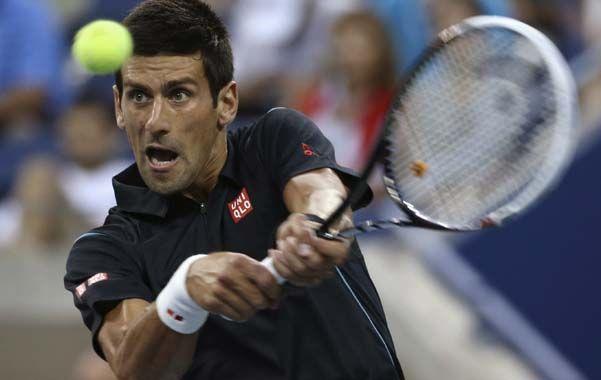 Seguro. Nole Djokovic ganó fácil por 6/0