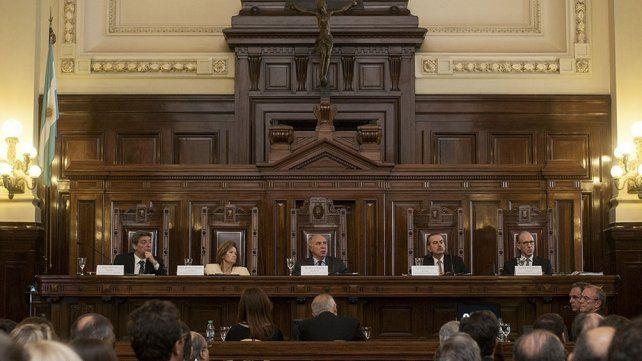 Señorías de la Corte Suprema